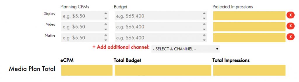 Programmatic Fee Transparency Calculator