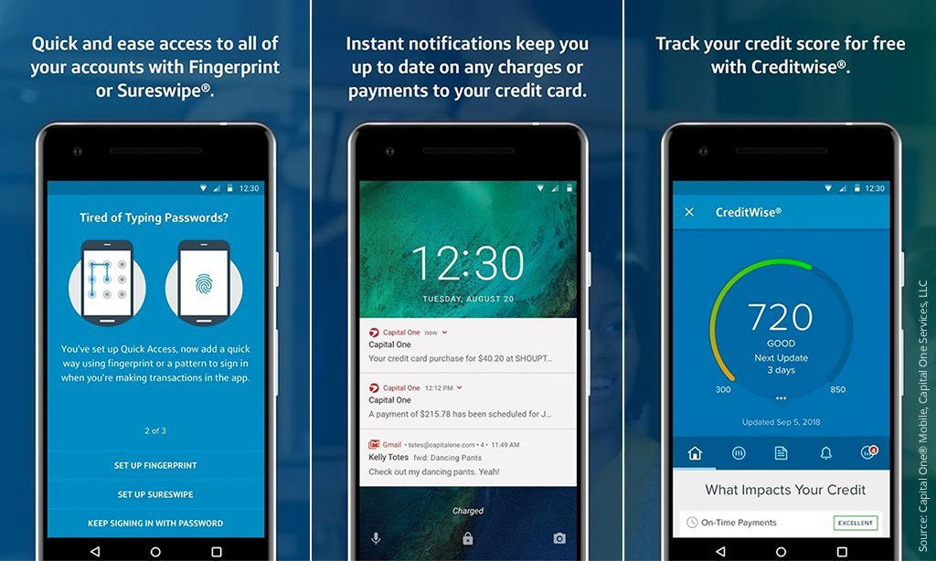 capital one banking app