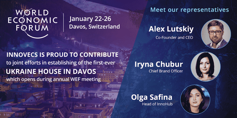 Innovecs supports the first-ever Ukraine House in Davos during annual WEF meeting