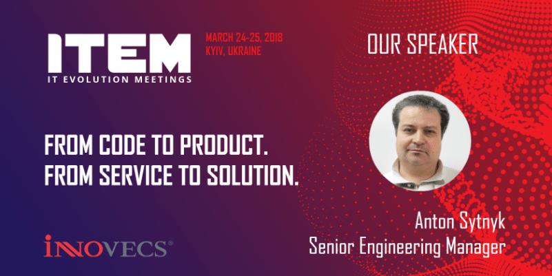 Innovecs at ITEM 2018