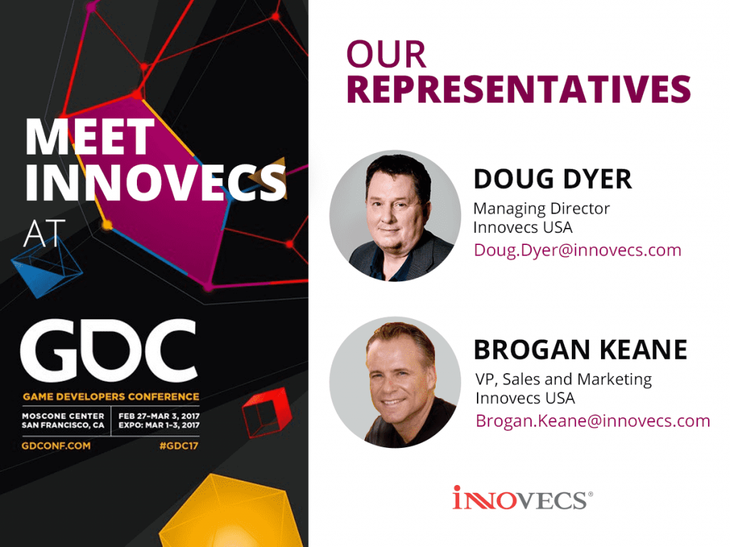 Doug Dyer and Brogan Keane will partake in the Game Developers Conference 2017