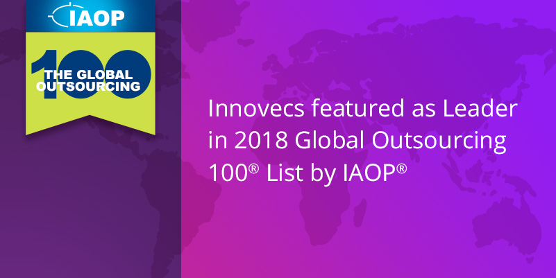 Innovecs in 2018 Global Outsourcing 100® list