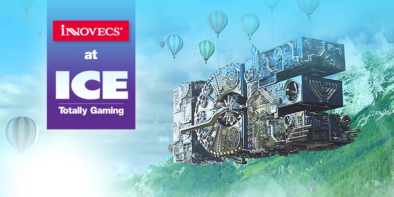 Meet Innovecs at the ICE Totally Gaming Conference 2016!