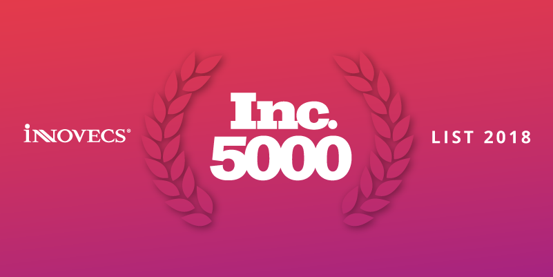 Innovecs gets listed in Inc. 5000 2018