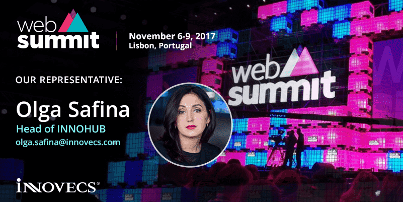 Olga Safina Head of INNOHUB, Will represent Innovecs at Web Summit