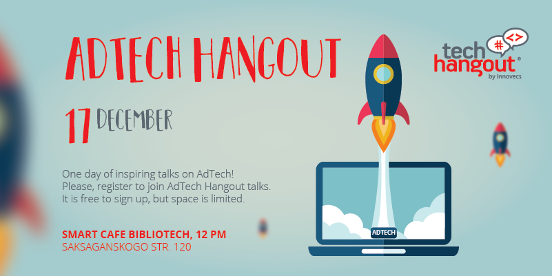 Site news 800x400 - AdTech Hangout is coming soon. The 6th meeting of Tech Hangout Community will take place on December 17