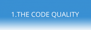 the code quality