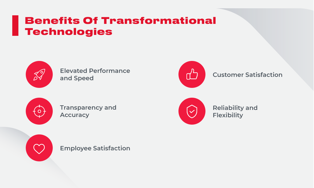 benefits of transformation technologies