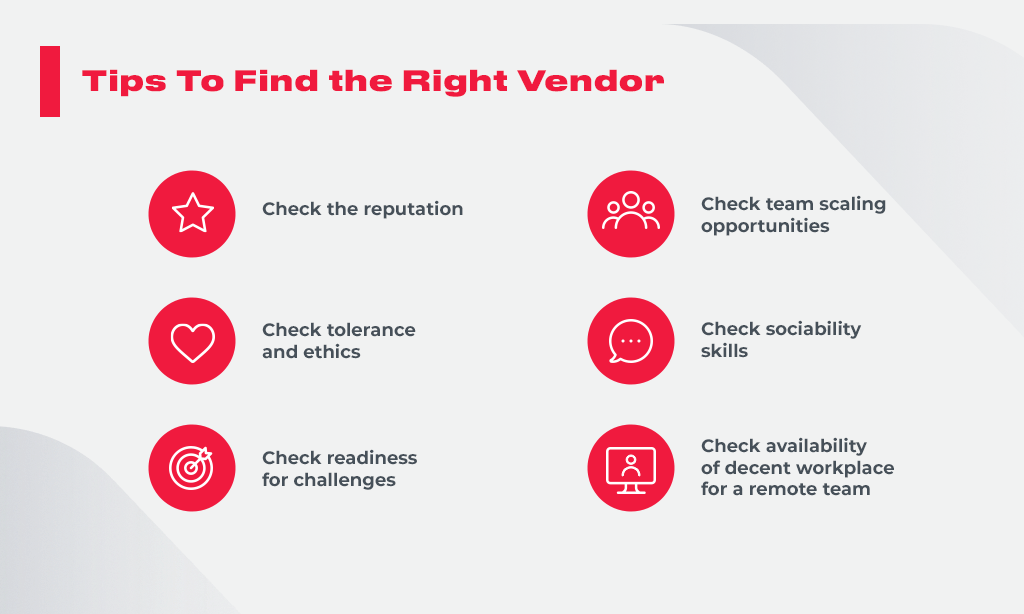 Tips To Find the Right Vendor